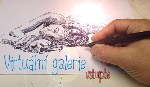 Vstup do galerie kreseb