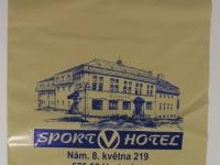 Igelitová taška pro Sport hotel hrotovice