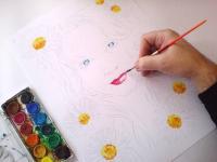 podmalba kresby