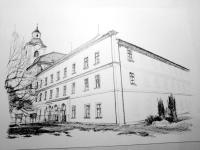 Městský úřad - Moravský Krumlov - kresba