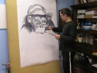 Kresba na šibřinky