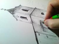 kresba - obec Rybníky