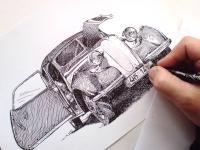 BMW, autoveterán, staré auto, retro