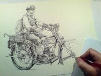 motorka, motoveterán, stará motorka, motocykl