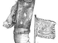 hradní cigáro - kresba