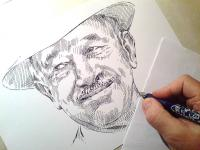 Edvard Beneš - kresba