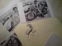Jawa 250 - kresba