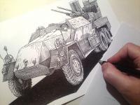 Praga 53/59 - kresba