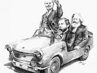 Inseminátoři komunizmu - Lenin, Marx, Engls