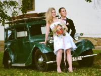 Eva a Radek - svatební foto
