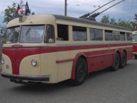 Historický trolejbus Tatra T 400 (původem z Ostravy) v Brně - zdroj Wikipedie