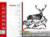 Kalendář VENDY atelier 2017