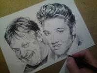 Radek Tupý a Elvis