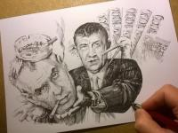 Babiš - Zeman - popelníček