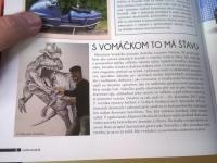Článek o mém kreslení v magazínu Veteran SK
