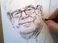 Miloš Forman - perokresba