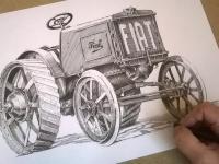 Fiat 703 - perokresba