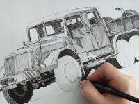 Tatra 141 - perokresba