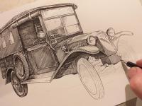 Tatra 13 - perokresba
