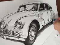 Tatra 87 - perokresba