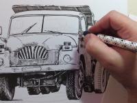 Tatra 138 S3 - perokresba
