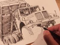 Tatra 111 - perokresba