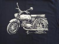 Jawa Mustang - tričko