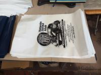 Potisk igelitových tašek v naší firmě VENDY atelier