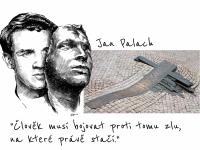Jan Palach - Václavské náměsté
