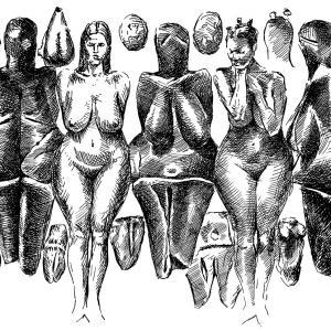 Věstonická Venuše - kresba