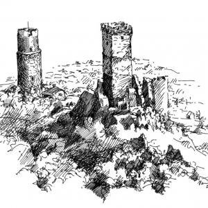 Starý hrad - Házmburk