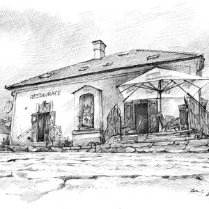 Štítary, restaurace, u sv. Floriana