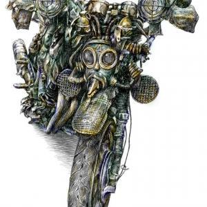 Bojová motorka