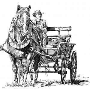 Hubertova jízda