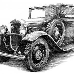 Praga Piccolo r.v. 1932