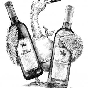 Svatomartinské víno a husa