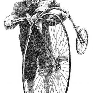 Cyklista retro