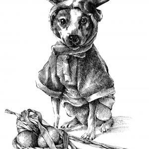 velikonoční pes