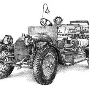AUSTRO - DAIMLER 1912