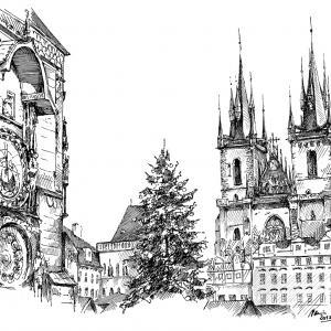 Praha - Staroměstské náměstí