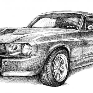 Ford Mustang Shelby GT 500 (Eleanor) 1968