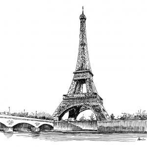 Paříž - Eiffelova věž