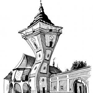Moravské Budějovice - věž