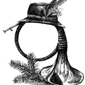 lesnice, borlice, lovecký hudební nástroj