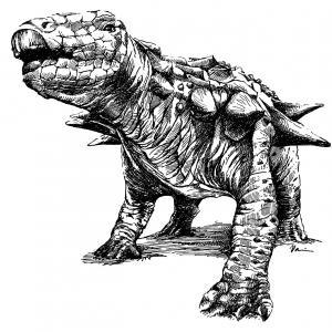 dinosaurus Edmontonia