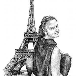 Portrét - Kristýnka