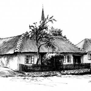 Došková chalupa - muzeum - Petrovice