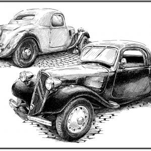 Citroen Traction Avant - 1934