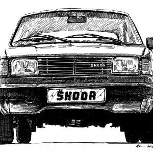 Škoda 130, výroba 1983 - 1990