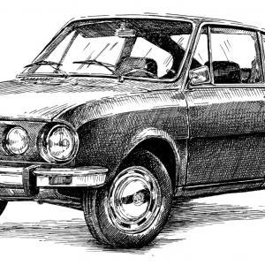 Škoda 110 R Cupé